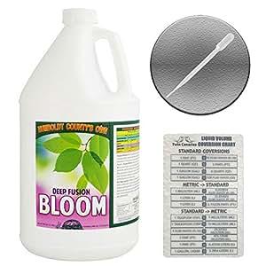 Condado de Humboldt de la propia de profundidad Fusion Bloom + 2Canarias tabla de digitación y pipeta–1Gallon