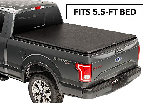 (TruXedo TruXport Soft Roll-up Truck Bed Tonneau Cover | 273901 | fits 14-19 Toyota Tundra w/Track System 5'6