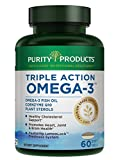 Cheap Purity Products – Triple Action Omega-3 Super Pill – 60 Softgels