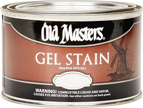 Old Masters 81008 Gel Stain Pint, Pickling White