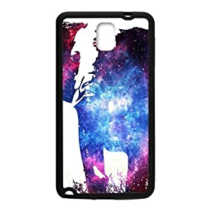 HDSAO Abstract elephant and skull Cell Phone Case for Samsung Galaxy Note3