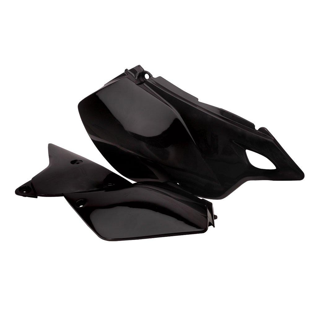 Acerbis Side Panels Black - Fits: Suzuki DR-Z 400SM 2005-2009