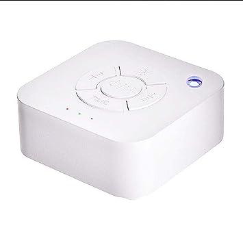 AOLVO máquina de Ruido Blanco luz de música de Alta fidelidad Sonido Relajante máquina de Dormir con 9 Sonidos Naturales para bebé Adultos 3 ajustes de ...