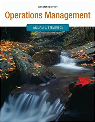 Operations management operations and decision sciences william operations management operations and decision sciences william stevenson 9780073525259 amazon books fandeluxe Images