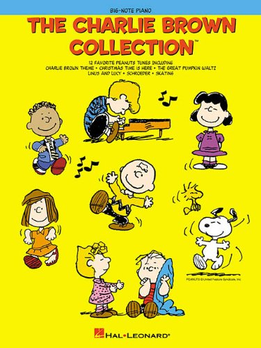 The Charlie Brown Collection(TM) (Big-Note Piano) Grief Sheet Music