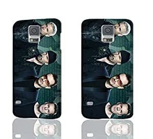 U2 Pattern Image - Protective 3d Rough Case Cover - Hard Plastic 3D Case - For Samsung Galaxy S5 i9600