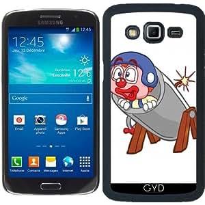 Funda para Samsung Galaxy Grand 2 (SM-G7105) - Payaso Hr En Un Cañón by Cadellin