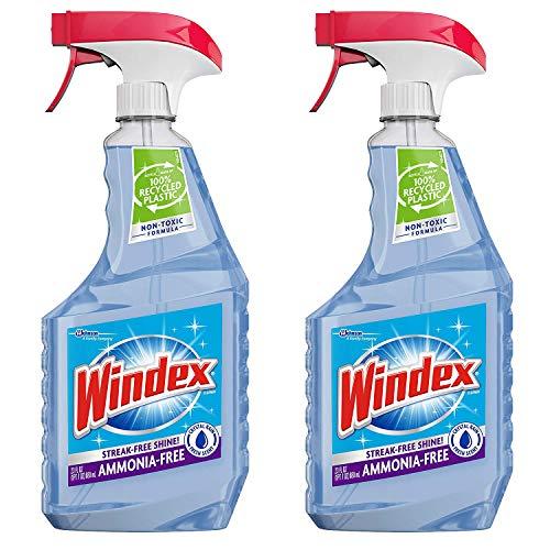 (Windex Cleaners, Blue, 26 fl. oz. 2 Count (CRYSTAL RAIN) )