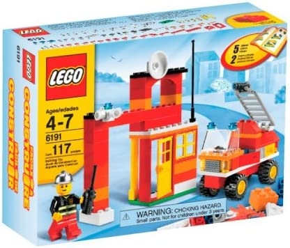 Amazon Com Lego Fire Fighter Building Set 6191 Toys Games