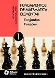 capa de Fundamentos de Matemática Elementar - Volume 1