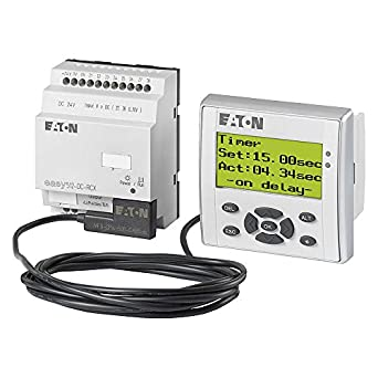 EATON MOELLER EASY618-AC-RE PLC, 115/230VAC: Amazon com: Industrial