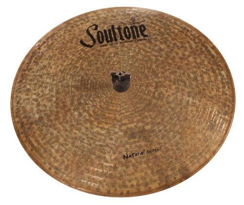 Soultone Cymbals NTR-FLHHT15-15 Natural Flat Hi Hats Pair [並行輸入品]   B06XXCJ64W