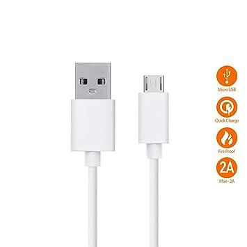 Cable de carga y transferencia de datos simultánea, compatible con Xiaomi Redmi Note 4, Bulk (Micro USB)