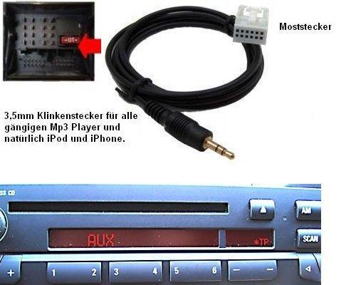 Hain Auxiliary Audio Cable,3.5mm Aux Male Jack Radio Lead for E60 E61 E63 E64 5558975960