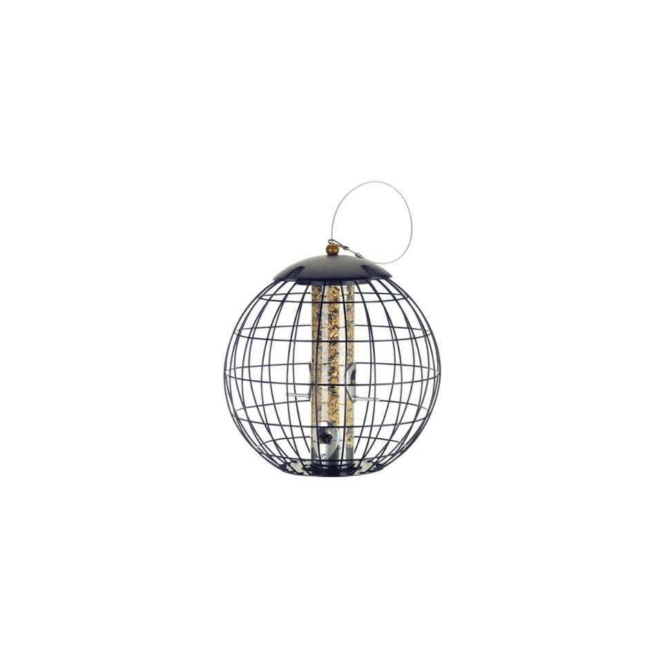 Squirrel Proof Cage Seed Bird Feeder