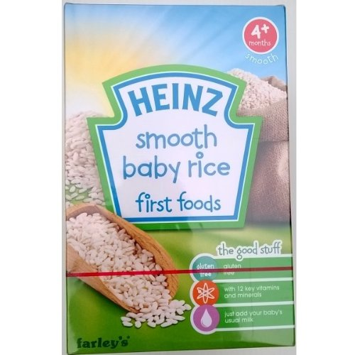 Heinz Farleys Smooth Baby Rice - 6 x 100gm