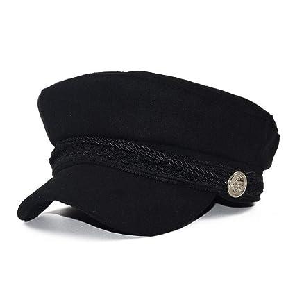 JJJRMP Sombreros De Invierno para Mujer Gorra Militar Algodón De ...