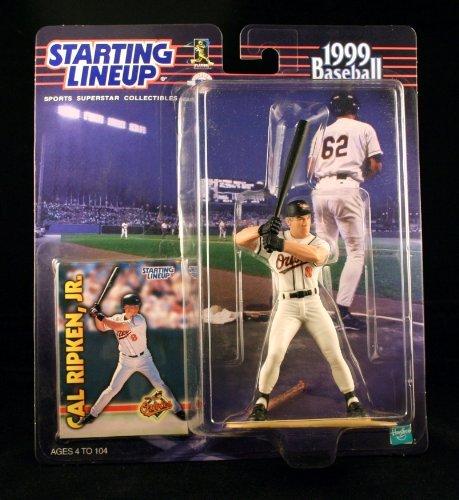 - CAL RIPKEN JR. / BALTIMORE ORIOLES 1999 MLB Starting Lineup Action Figure & Exclusive Collector Trading Card
