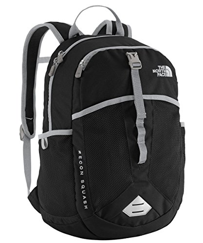 The North Face Youth Recon Squash Backpack Youth TNF Black/High Rise Grey