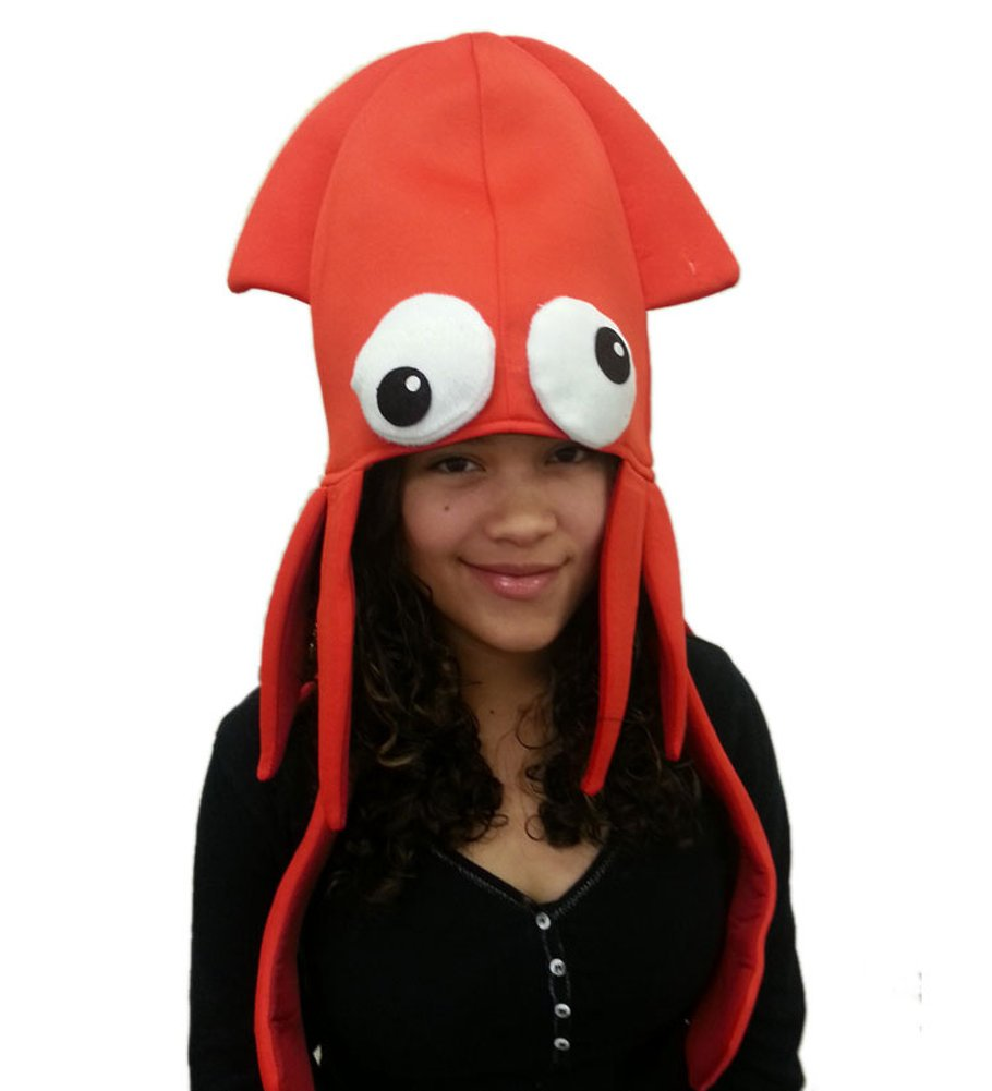 Squid Hat Funny Fun And Crazy Hats In Many Styles Buy Online