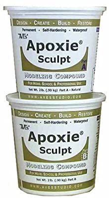 Apoxie Sculpt 4 Lb. Epoxy Clay - Natural by Aves by Aves