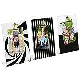 Polaroid Stylish Mini-Clipboard Frame Set for 2x3'' Photoprints – 3 Designs Per Package