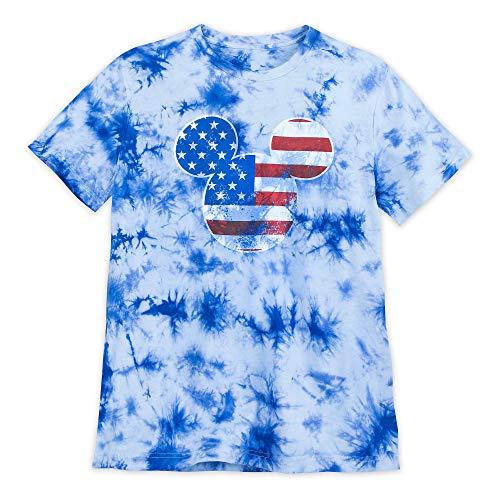 Disney Mickey Mouse Americana T-Shirt for Men Size Mens XL Multi