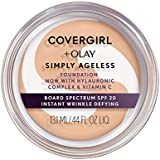 COVERGIRL + OLAY Simply Ageless Instant Wrinkle Defying Foundation, 12 Grams