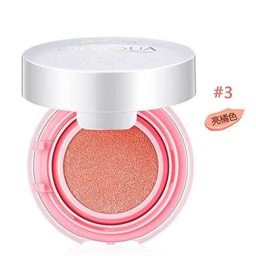 RedDhong Air Cushion Blush Makeup Cheek Sleek Cosmetics Soft Powder Naked Blusher - Cheekbones Round High Face