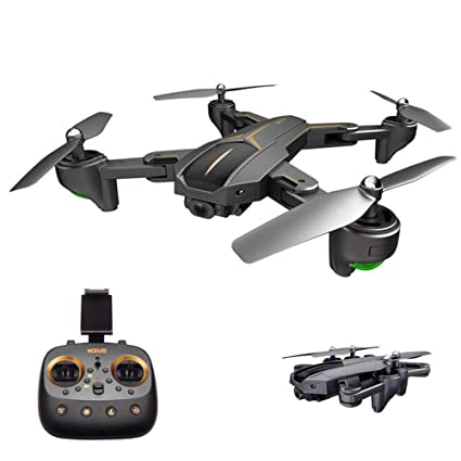 TLgf Dron Plegable, GPS 5G WiFi FPV Equipado con cámara de 2MP/5MP ...