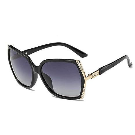 LENGKANG-EU UV400 Marrón Púrpura Señoras Gafas polarizadas ...