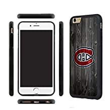 CHICEXP Designer Montreal Canadiens iPhone 6/6s Case-with Tempered Glass Screen Protector