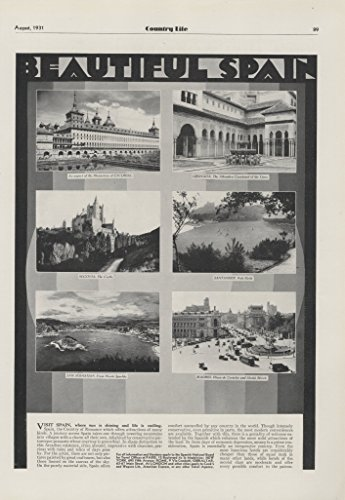 1931-ad-beautiful-spain-vacation-spanish-tourist-bureau-santander-polo-field-original-vintage-advert