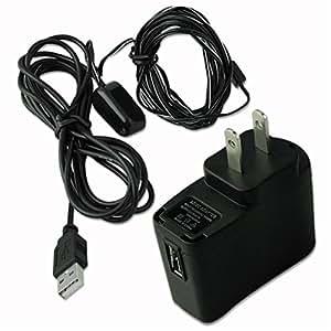 receptor de infrarrojos ARBUYSHOP kit de ir repetidor extensor de control remoto + EE.UU. enchufe adaptador USB EG5714