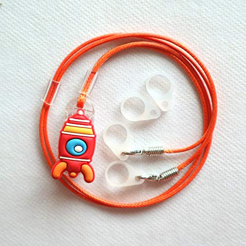 BTE Hearing Aids Protection & Security Clip Anti-Lost Cord Portable Hang Rope for Kid Child Teenager (O6655)