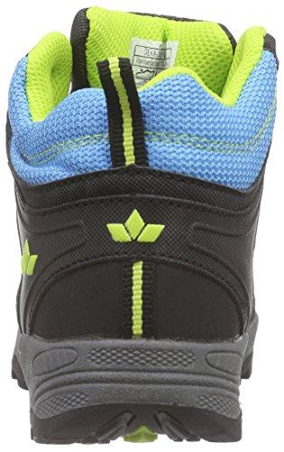 Lico Terrain - Zapatillas de senderismo Niños Azul - Blau (blau/schwarz/lemon)