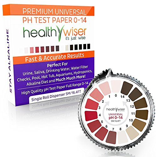 Litmus Paper pH Test Strips 0-14, Tests Water Quality For...