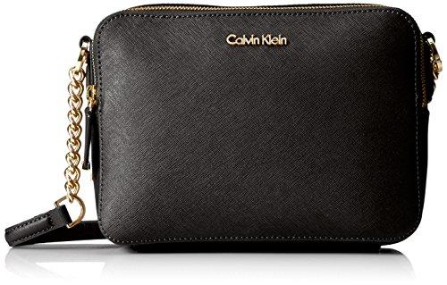 Calvin Klein Key Item Saffiano Camera Bag Crossbody by Calvin Klein