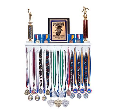 Premier 2ft Award Medal Display Rack and Trophy Shelf by MedalAwardsRack (Image #4)
