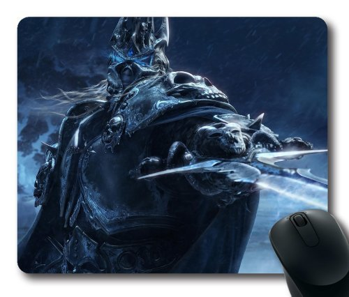 World Of Warcraft Mouse Pads (World of warcraft wrath of the lich king rectangle mouse pad by icasepersonalized)