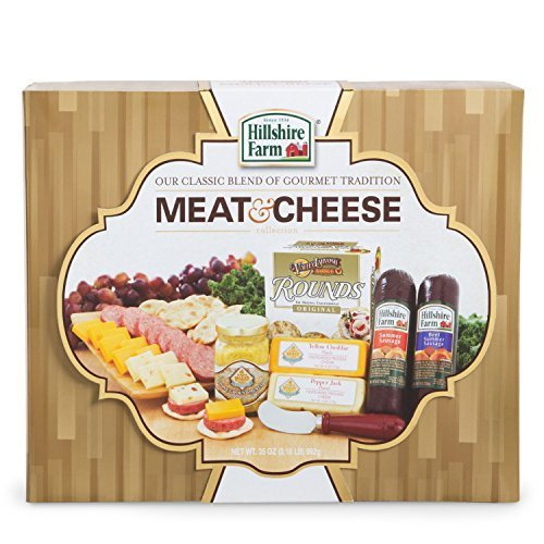 Hillshire Farms Meat & Cheese Gift Box (Gold)