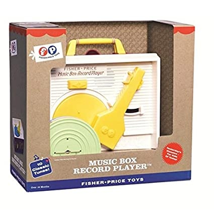 Fisher-Price Classics Record Player 18 Mnths +: Amazon.es ...