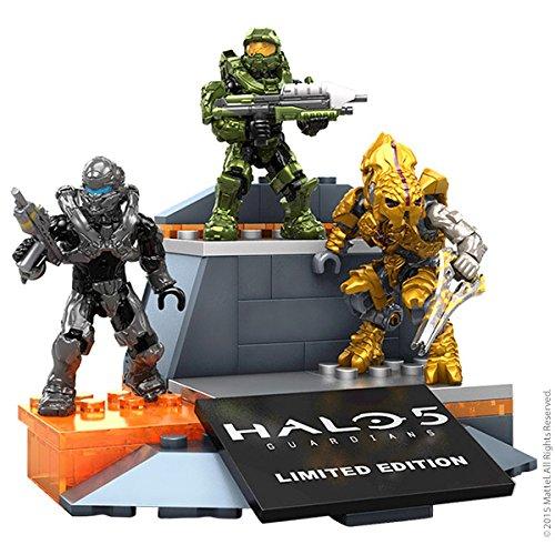SDCC 2015 Exclusive Halo 5 Mega Bloks 3 Figure Set Arts ...