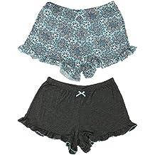 Marilyn Monroe Intimates Women's Sleepwear Pajama Shorts (2 Pair)