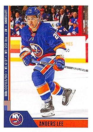 d0d128486c7 2018-19 Panini NHL Stickers  153 Anders Lee New York Islanders Hockey Card