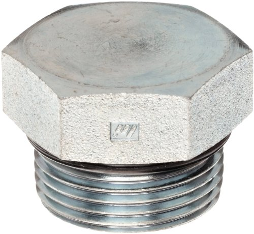 Thread O-ring (Brennan 6408-10-O Steel Straight Thread O-Ring  Tube Fitting, External Hex Plug, 5/8