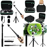 Shockproof Selfie Stick Monopod Mini Tripod Stand With Protective Carrying Case ✅