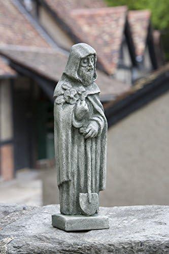 St. Fiacre Statue Color: Alpine Stone