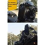QZY Fast Tactical Casque Full Face Protectrice avec Visière Lunettes, pour La Chasse De Paintball Airsoft Moto Militaire… 7