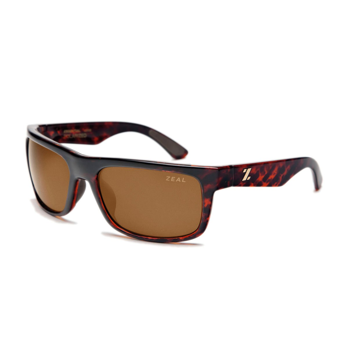2b4b8555431 Amazon.com  Zeal Optics Unisex Essential Polarized Brown + Olive W   Copper  Polarized Lens Sunglasses One Size  Sports   Outdoors